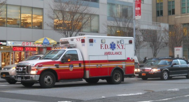 Less than half of FDNY has been…………