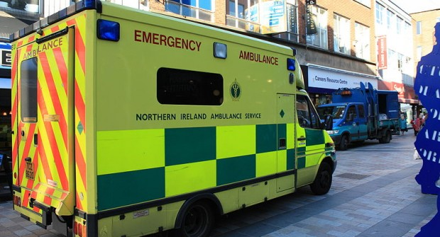 Ambulance staff in Northern Ireland attacked…..