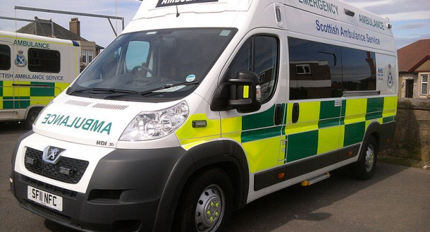 Rising call-outs fueling ambulance strain…..