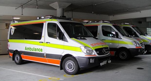 Tasmanian ambulance ramping at Royal Hobart Hospital in Australia…..