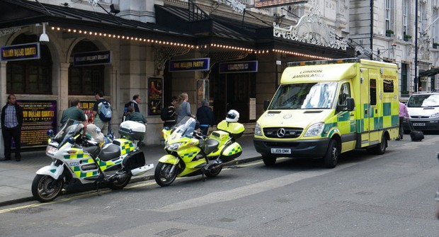 Ambulance trusts across the UK….