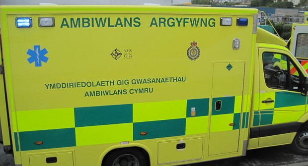 Welsh ambulance union offering support….
