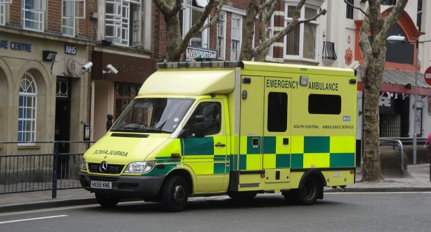 South Central Ambulance Service in UK…..