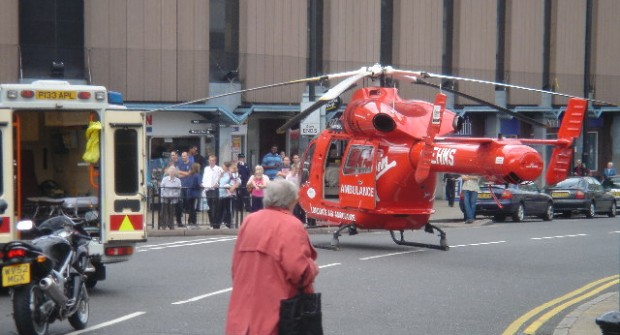 Third of all London Air Ambulance call-outs in UK…