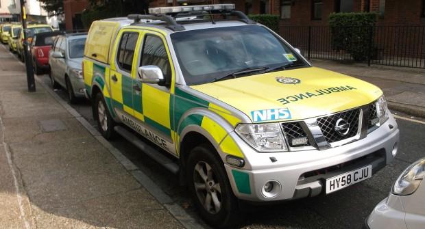 London Ambulance staff in UK….