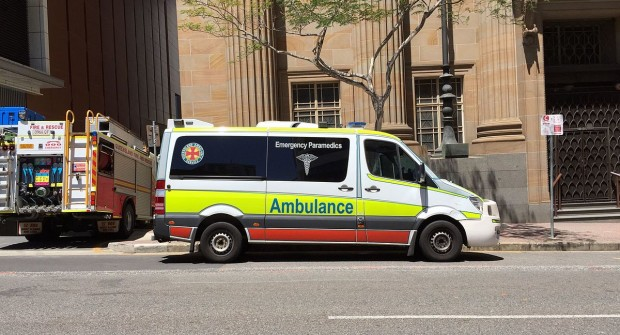 Queensland, Australia woman accused in ambulance officer assault….