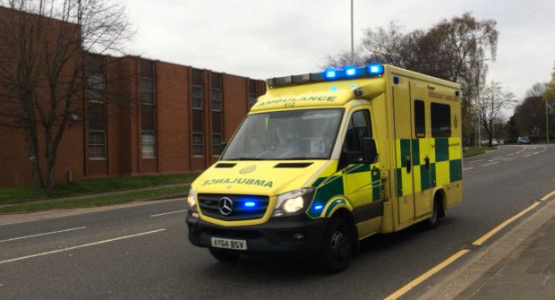 UK paramedic suspended after…..