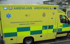 Increase in abusive behaviour could see Welsh paramedics…..