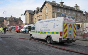 Scottish Ambulance Service staff contract details….