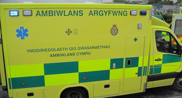 Welsh schoolgirl waited an hour for ambulance…..