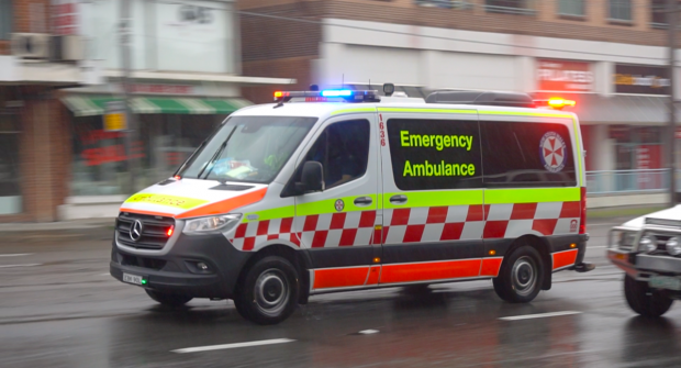 New South Wales paramedics in Australia…..