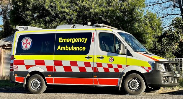 New South Wales, Australia paramedic says he's been suspended….
